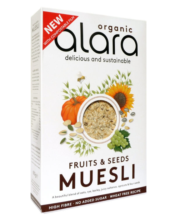 Fruits and Seeds Muesli