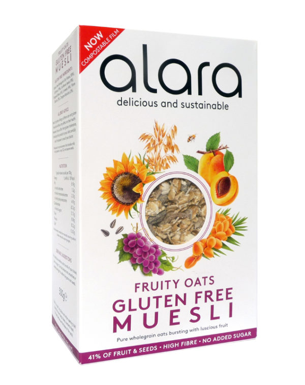 Fruity Oats Gluten Free Muesli