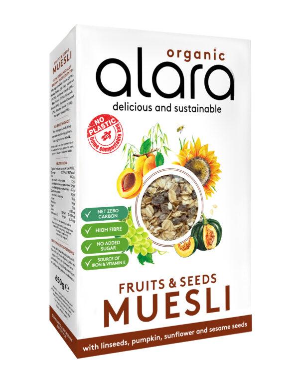 Alara Fruits Seeds Muesli
